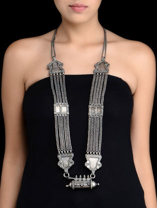Ethno Antique Silver Necklace