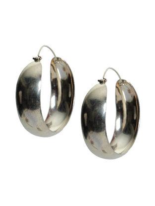 Retro Silver Earrings