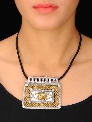 Ethno Bold Silver Pendant
