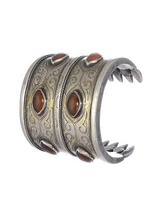 Cornelian Silver Cuff