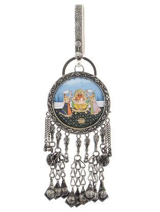 Lord Ganesha Silver Chabbi Challa