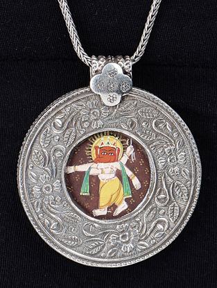 Lord Ganesha Silver Pendant