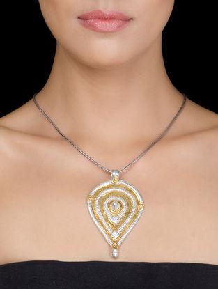 Ethno Silver Pendant