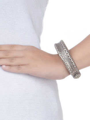 Bold Silver Bangle