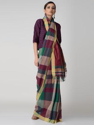 Multicolored Cotton Saree