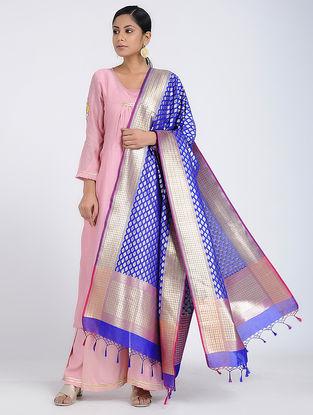 Blue Benarasi Art Silk Dupatta