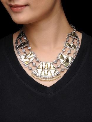 Dual Tone Brass Necklace
