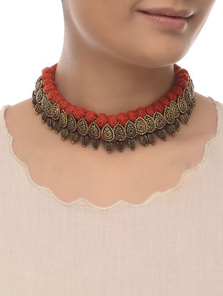 Red Thread Necklace