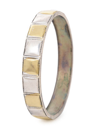 Dual Tone Brass Bangle