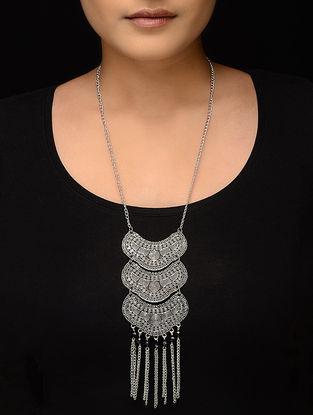 Black Silver Tone Necklace