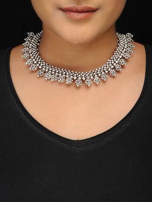 Classic Silver Tone Copper Necklace