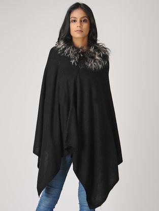 Black Cashmere Cape