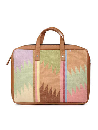 Multicolored Handcrafted Cotton Kilim Laptop Bag