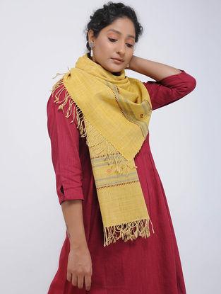 Yellow-Red Eri Silk Stole