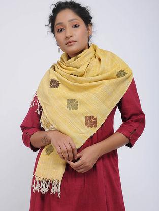 Yellow Eri Silk Stole