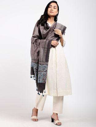 Kashish Ajrakh-printed Silk Cotton Dupatta