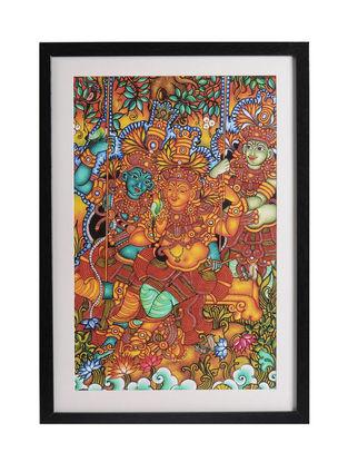 Radha Krishna Kerela Murals 19.6in x 14in