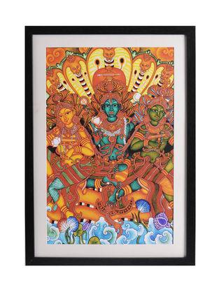 Ananthasanam Kerela Murals 19.6in x 14in