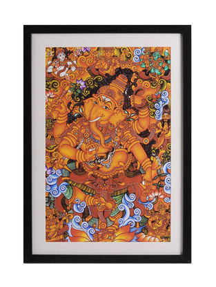 Ganesha Kerela Murals 19.6in x 14in