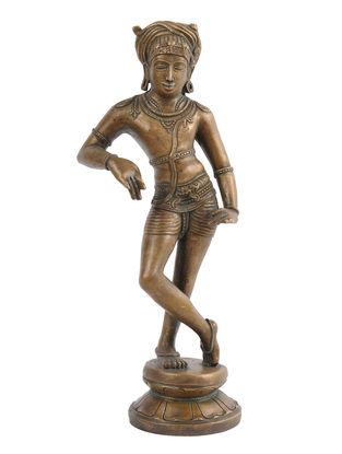 Shiva - Rishabhadeva Bronze Statue - 11 Inch