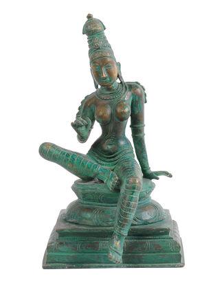 Bogashakti Bronze Statue - 11 Inch