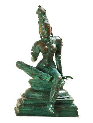 Bogashakti Bronze Statue - 15 Inch