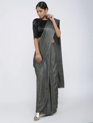 Kashish Block-printed Gajji Silk Saree