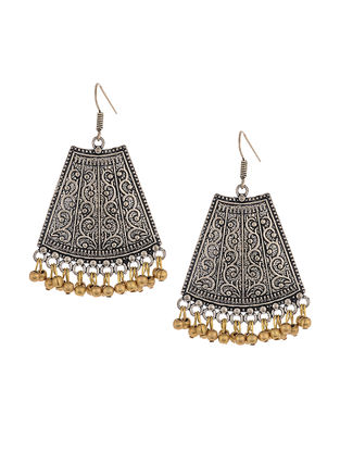 Classic Dual Tone Earrings