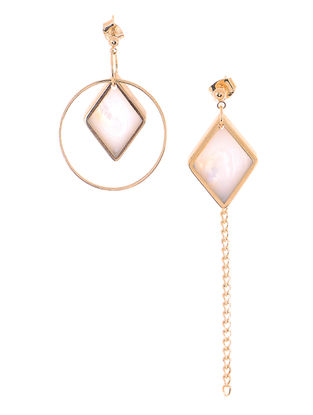 Mother of Pearl Gold-plated Earrings