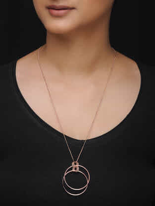 Classic Rose Gold-plated Necklace