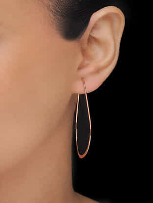 Classic Rose Gold-plated Earrings