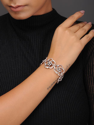 Classic Silver-Plated Bracelet