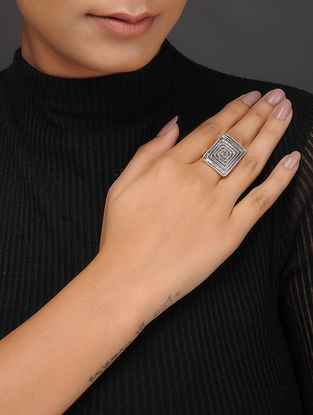 Classic Silver-Plated Ring