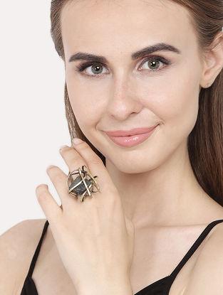 Bronze Handcrafted Adjustable Ring