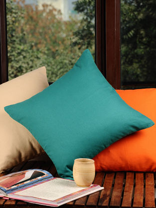 Green Solid Cushion Cover 16in X 16in