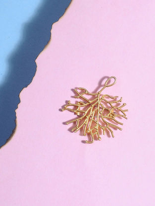 Gold-plated Silver Brooch