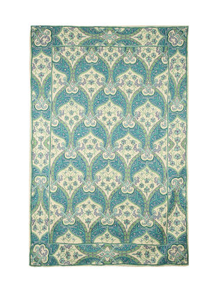 Buy An Elegant Spread By Tariq Kathwari Woolen Rugs And