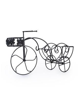 Iron Rickshaw Planter (L:23.2in, W:6.5in, H:13in)
