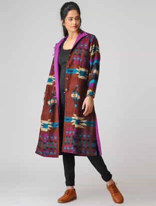 Maroon Woolen Jacket