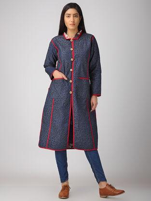 Blue Denim-Cotton Jacket