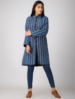 Blue-Black Cotton Jacket