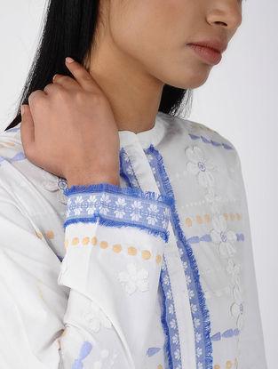 White Embroidered Cotton Tunic