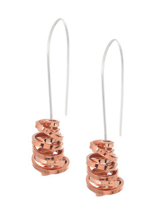 Classic Handcrafted Dual Tone Earrings