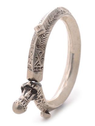 Vintage Tribal Silver Cuff