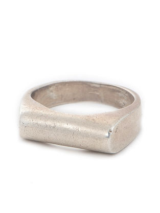 Tribal Silver Ring (Ring Size -9)