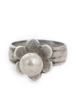 Tribal Silver Ring (Ring Size -5)