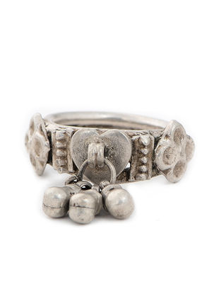 Tribal Silver Ring (Ring Size -6.5)