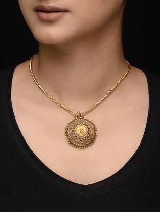 Tribal Gold Pendant