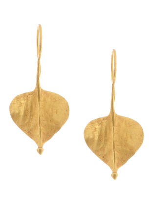 Tribal Gold Earrings