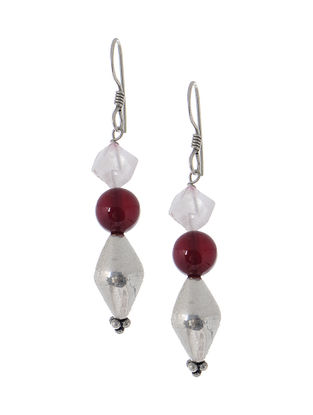 Jade Silver Earrings